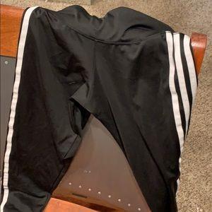 Kids 3/4 adidas leggings